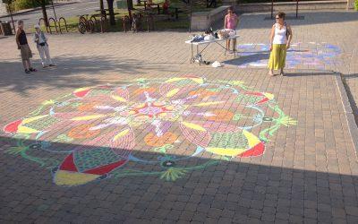 Mandala géant